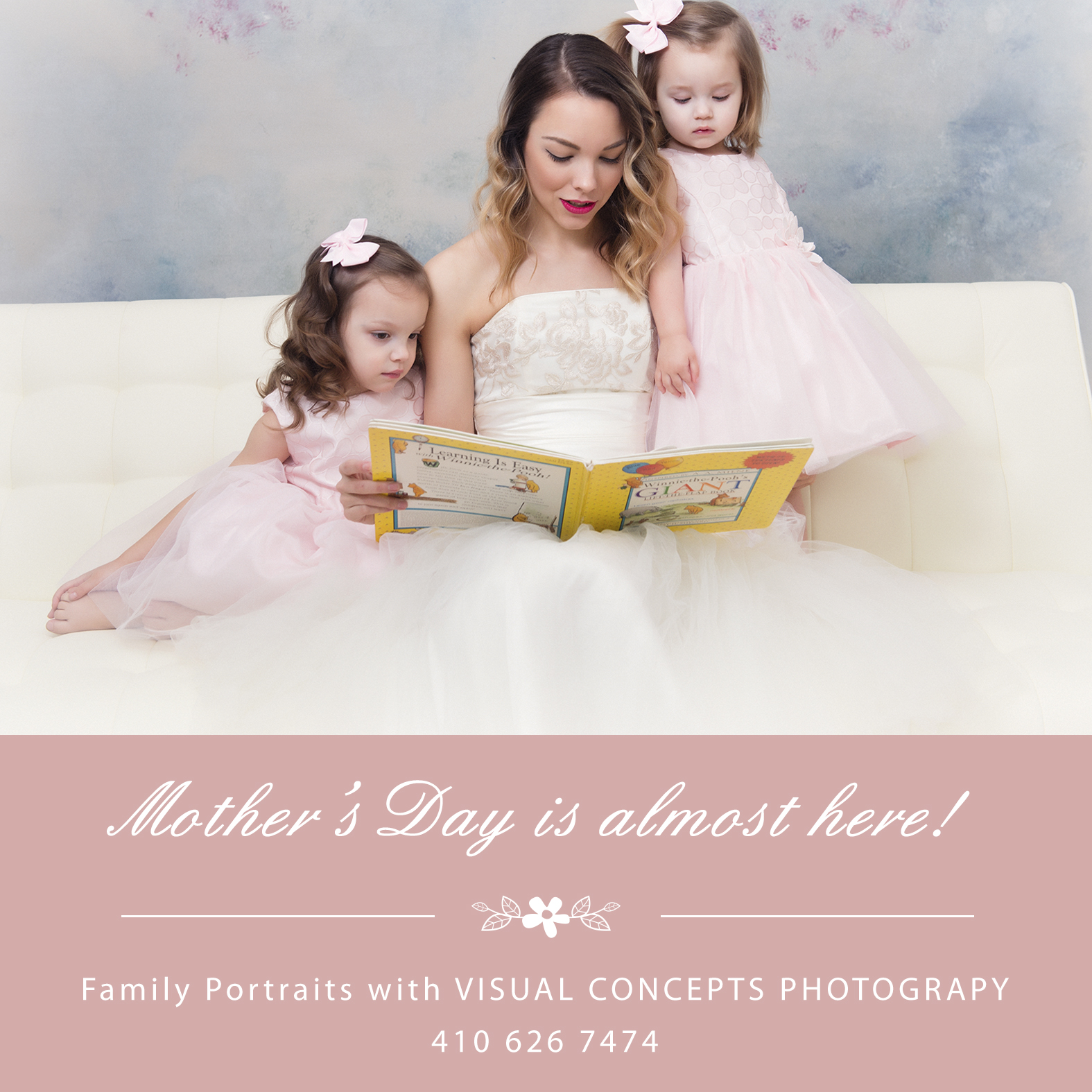 Mother/Daughter Photo Shoot Visual Concepts Photography Annapolis MD